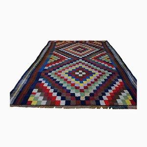 Vintage Wool Kilim Carpet, 1950s