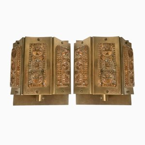 Mid-Century Sconces from Vitrika, 1960s, Set of 2