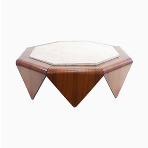 Rosewood Coffee Table by Jorge Zalszupin, 1960s