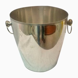 Silver Metal Champagne Bucket, 1960s