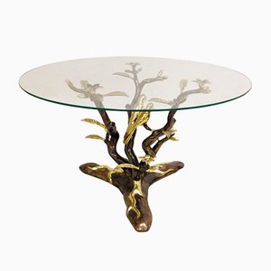 Bronze Bird Coffee Table by Willy Daro, 1970s