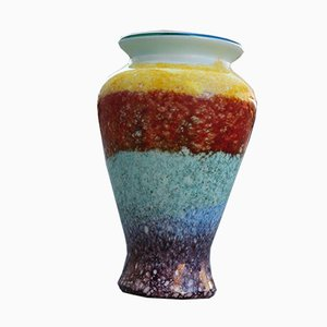 Multicolor Murano Glass Vase from Avem, 1950s