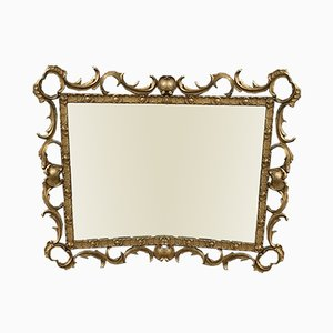 Decorative Gilt Mirror, 1950s