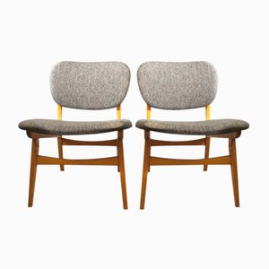 Easy Chairs, 1950s, Set of 2