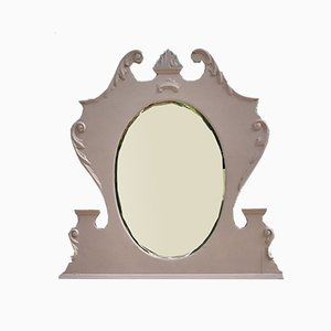 Antique Dusky Pink Decorative Mirror