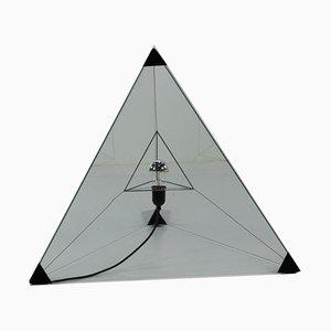 Große Tetrahedron Stehlampe von Wegman Nieuwenborg für Indoor, 1979