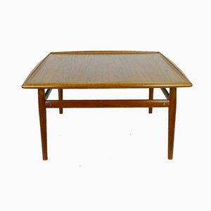 Grande Table Basse Carrée en Teck par Grete Jalk, Danemark, 1960s