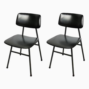 Mid-Century Minimalist Dining Chairs by Niko Kralj for Stol Kamnik, Set of 2