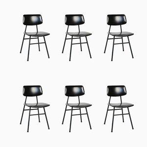 Chaises de Salon Mid-Century Minimalistes par Niko Kralj pour Stol Kamnik, Set de 6