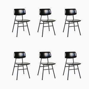 Mid-Century Minimalist Dining Chairs by Niko Kralj for Stol Kamnik, Set of 6