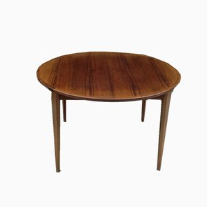 Mid-Century Danish Rosewood Dining Table by Henry Rosengren Hansen, 1960s