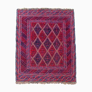 Vintage Afghan Mashwani Rug, 1970s