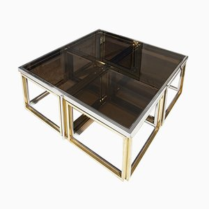 Nesting Tables by Jean Charles, 1970s, Set of 5