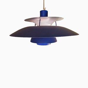Lampe à Suspension PH5 / 3 par Poul Henningsen pour Louis Poulsen, 1970s