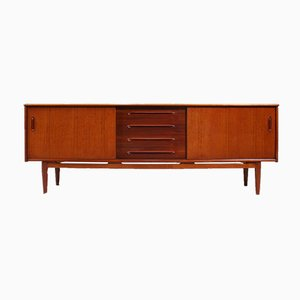 Teak Model Cortina Sideboard by Nils Jonsson for Hugo Troeds, 1960s