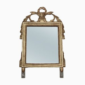 Antique Gilt Overmantle or Wall Mirror