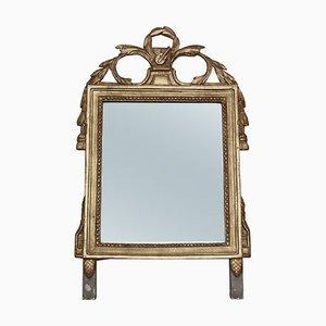 Specchio da parete o specchio antico dorato