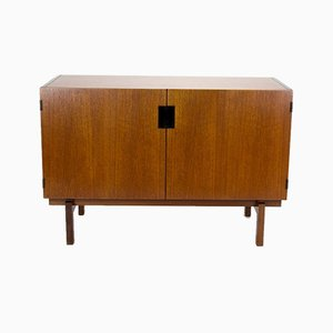 Dutch Teak DU-02 Japan Series Sideboard by Cees Braakman for Pastoe, 1950s
