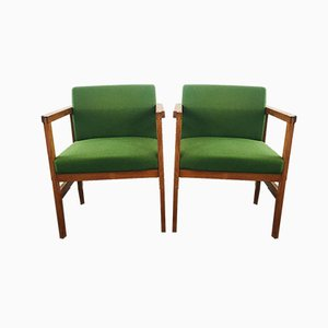 Mid-Century Armchairs from G Stone Ltd, 1970s, Set of 2
