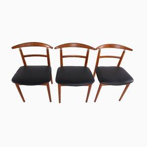 Dänische Palisander Esszimmerstühle von Helge Sibast für Sibast, 1962, 6er Set