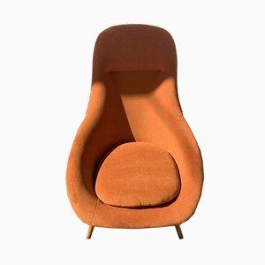 Gemini Pod Chair by Walter Cheney for Lurashell, 1960s
