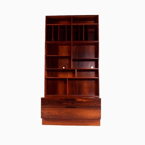 Rosewood Bookcase by Ib Kofod Larsen for Faarup Møbelfabrik, 1960s