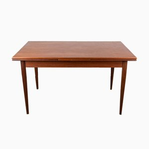 Danish Teak Dining Table by Johannes Andersen for Silkeborg Møbelfabrik, 1960s