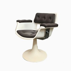 Mid-Century Swivel Lounge Chair by Albert Jacob for Grosfillex, 1970s