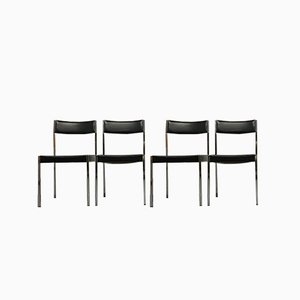 Bauhaus Model 7833 Euro Chairs from Girsberger, 1968, Set of 4
