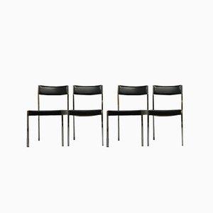 Bauhaus Modell 7833 Euro Stühle von Girsberger, 1968, 4er Set