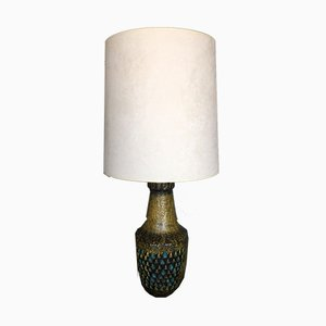 Large Mid-Century Italian Ceramic Table Lamp, 1950s