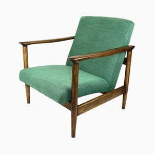 Green Armchair by Edmund Homa, 1970s