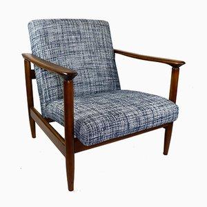 Blauer Sessel von Edmund Homa, 1970er