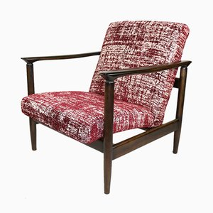 Red Armchair by Edmund Homa, 1970s