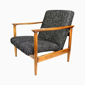 Black Armchair by Edmund Homa, 1970s