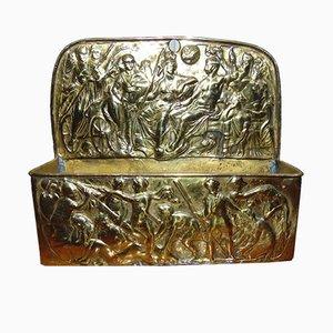 Mid-Century Brass Rack