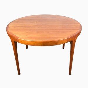 Table de Salle à Manger Extensible en Teck par Ib Kofod Larsen pour Faarup Møbelfabrik, Danemark, 1960s