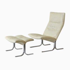 Schweizer Modell DS 2030 Sessel von Hans Eichenberger für de Sede, 1970er, 2er Set