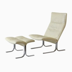 Swiss Model DS 2030 Lounge Chairs by Hans Eichenberger for de Sede, 1970s, Set of 2