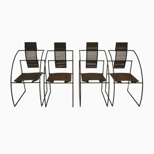 Vintage Quinta Chairs by Mario Botta for Alias, 1980s, Set of 4