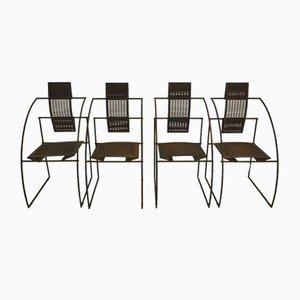 Vintage Quinta Stühle von Mario Botta für Alias, 1980er, 4er Set