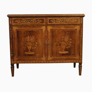 Louis XVI Style Italian Inlaid Rosewood Sideboard, 1960s