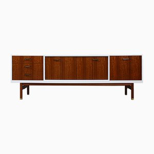 White Lacquered Long Sideboard from G-Plan, 1960s