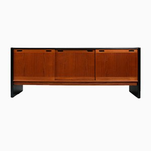 Danish Teak and Black Sideboard from Skovby, 1960s