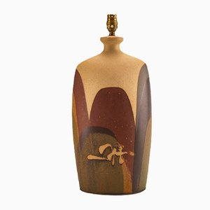 Lámpara de mesa de Peter Ellery para Tremaen, años 70