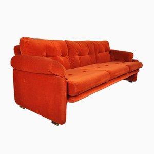 Set da salotto e divano Coronado di Tobia & Afra Scarpa per B & B Italia, anni '60, set di 3