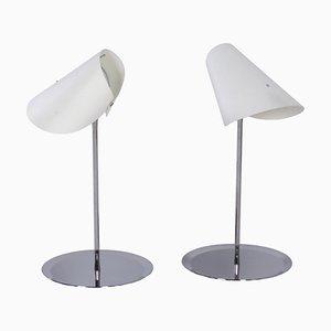 Lampes de Bureau Reu Ferou par Man Ray & Dino Gavina pour Sirrah, 2000s, Set de 2