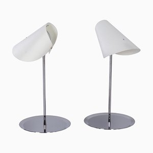Reu Ferou Tischlampen von Man Ray & Dino Gavina für Sirrah, 2000er, 2er Set