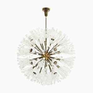 Large Model Snowball Sputnik Chandelier by Emil Stejnar for Rupert Nikoll, 1950s