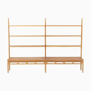 Scandinavian Shelving Unit in Oak by William Watting for A. Mikael Laursen, 1960s